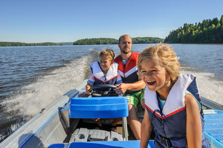 family-boating-express